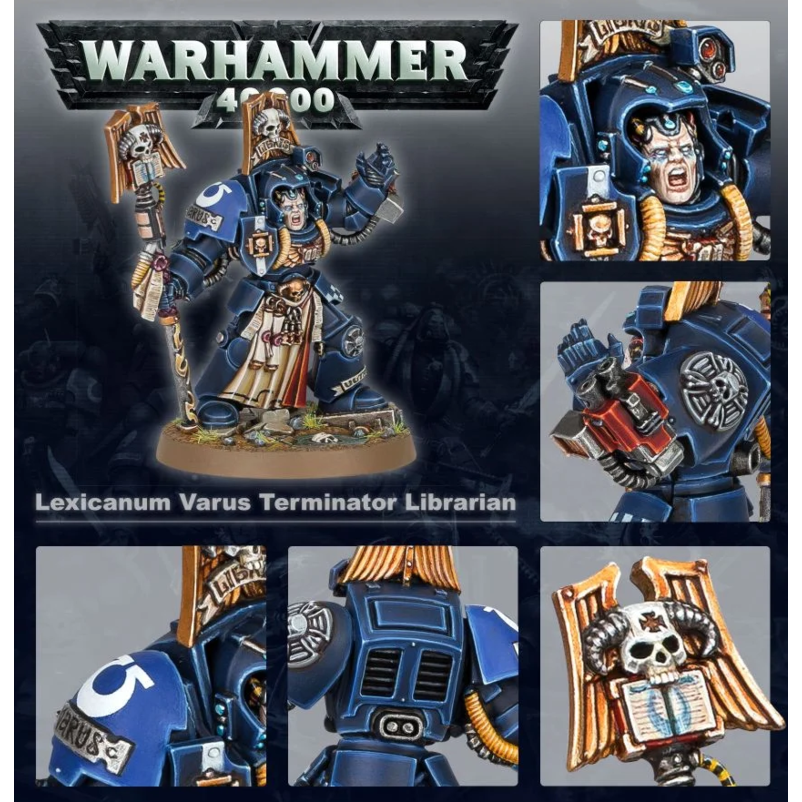 Games Workshop Lexicanum Varus, Terminator Librarian