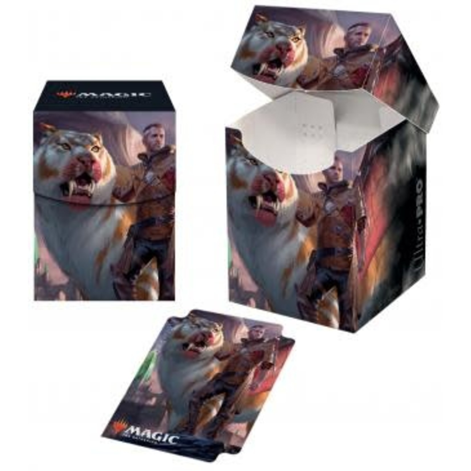 Ikoria Lukka, Coppercoat Outcast PRO 100+ Deck Box for Magic: The Gathering
