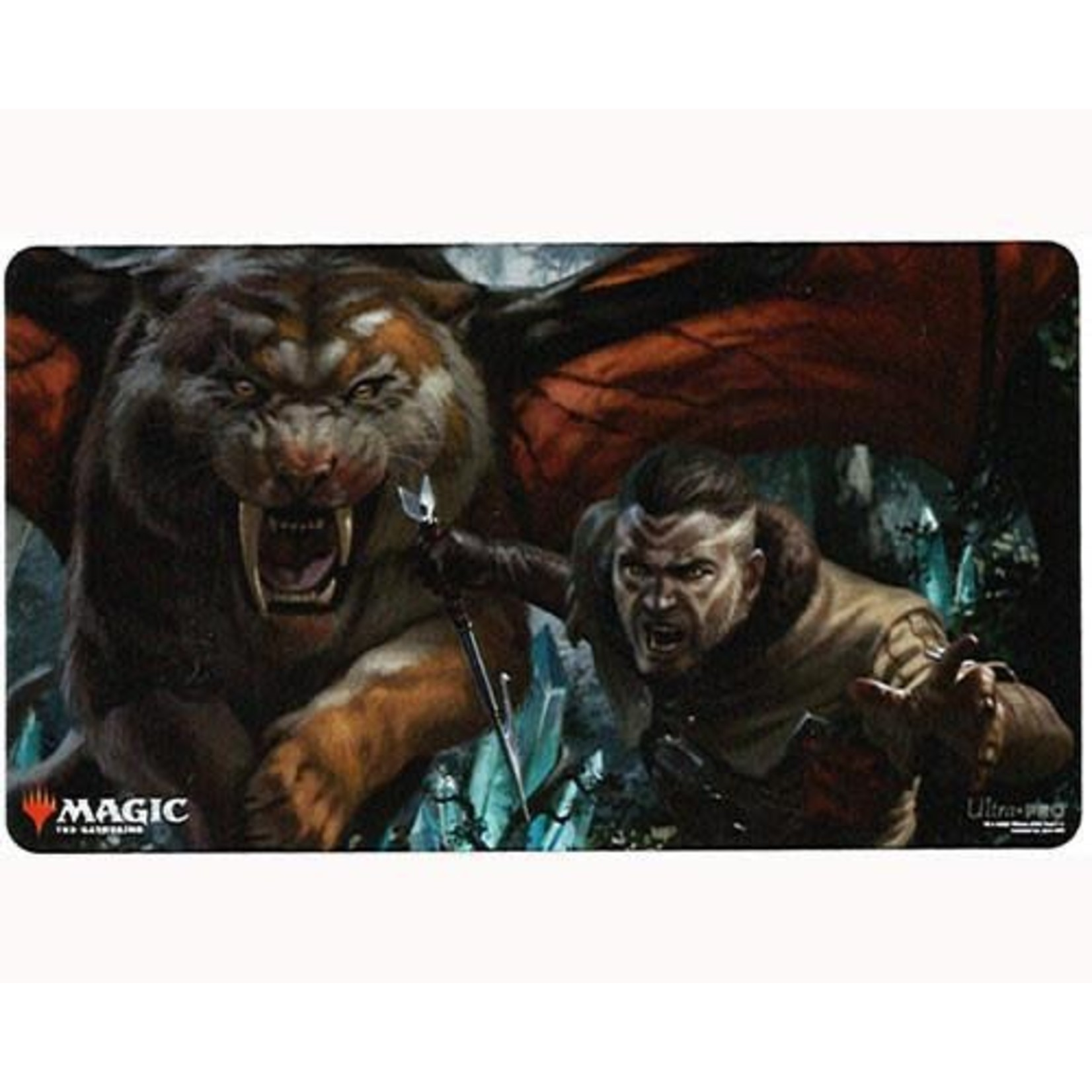 Ikoria Go For Blood Playmat for Magic The Gathering
