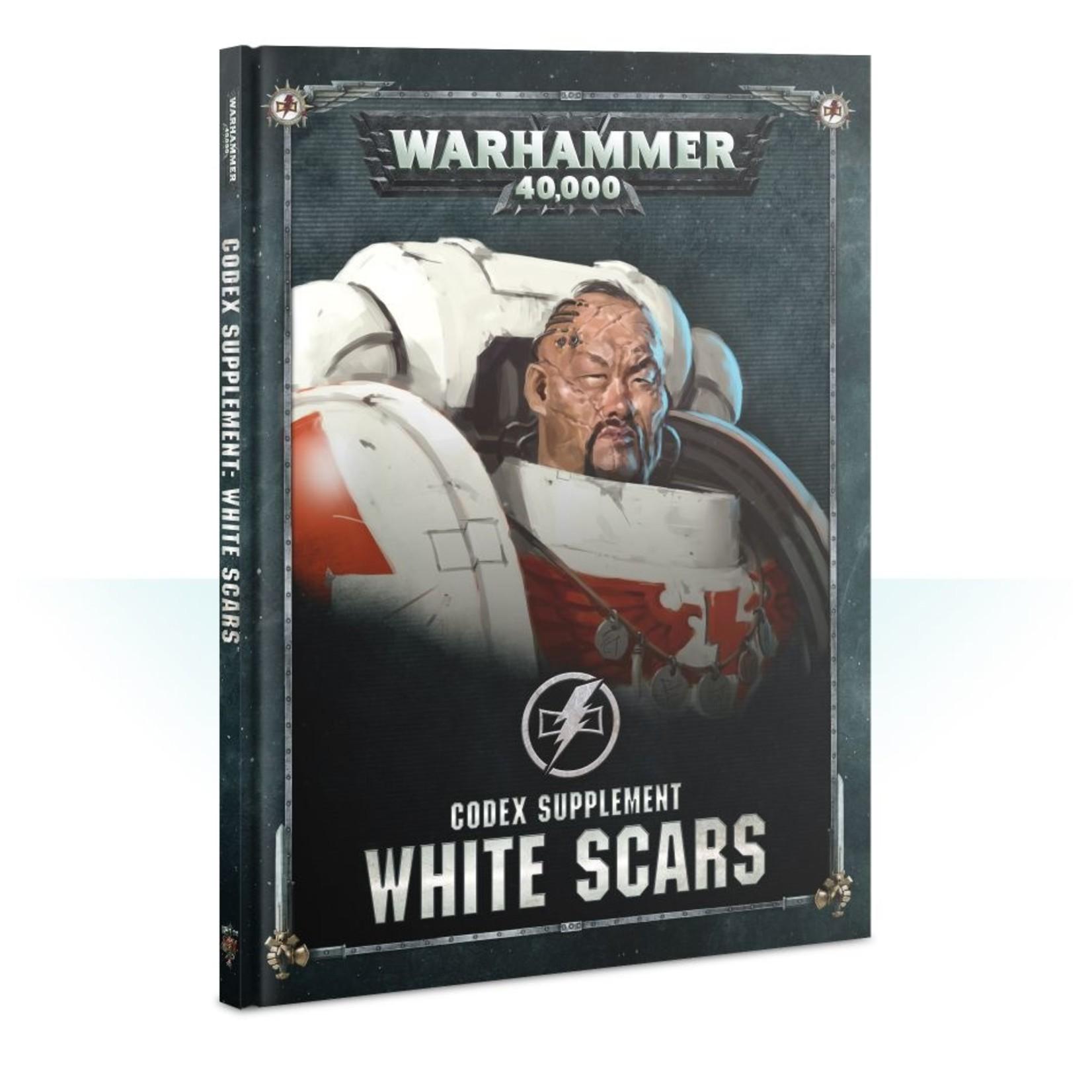 Games Workshop CODEX SUPPLEMENT: WHITE SCARS (HB) (ENGLISH)
