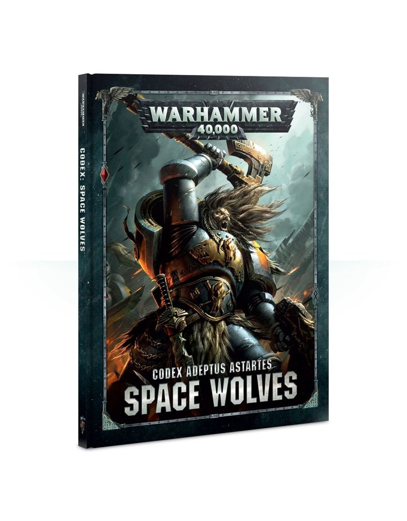 Games Workshop CODEX: SPACE WOLVES (HB) (ENGLISH)