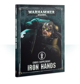 Games Workshop CODEX: IRON HANDS (HB) (ENGLISH)