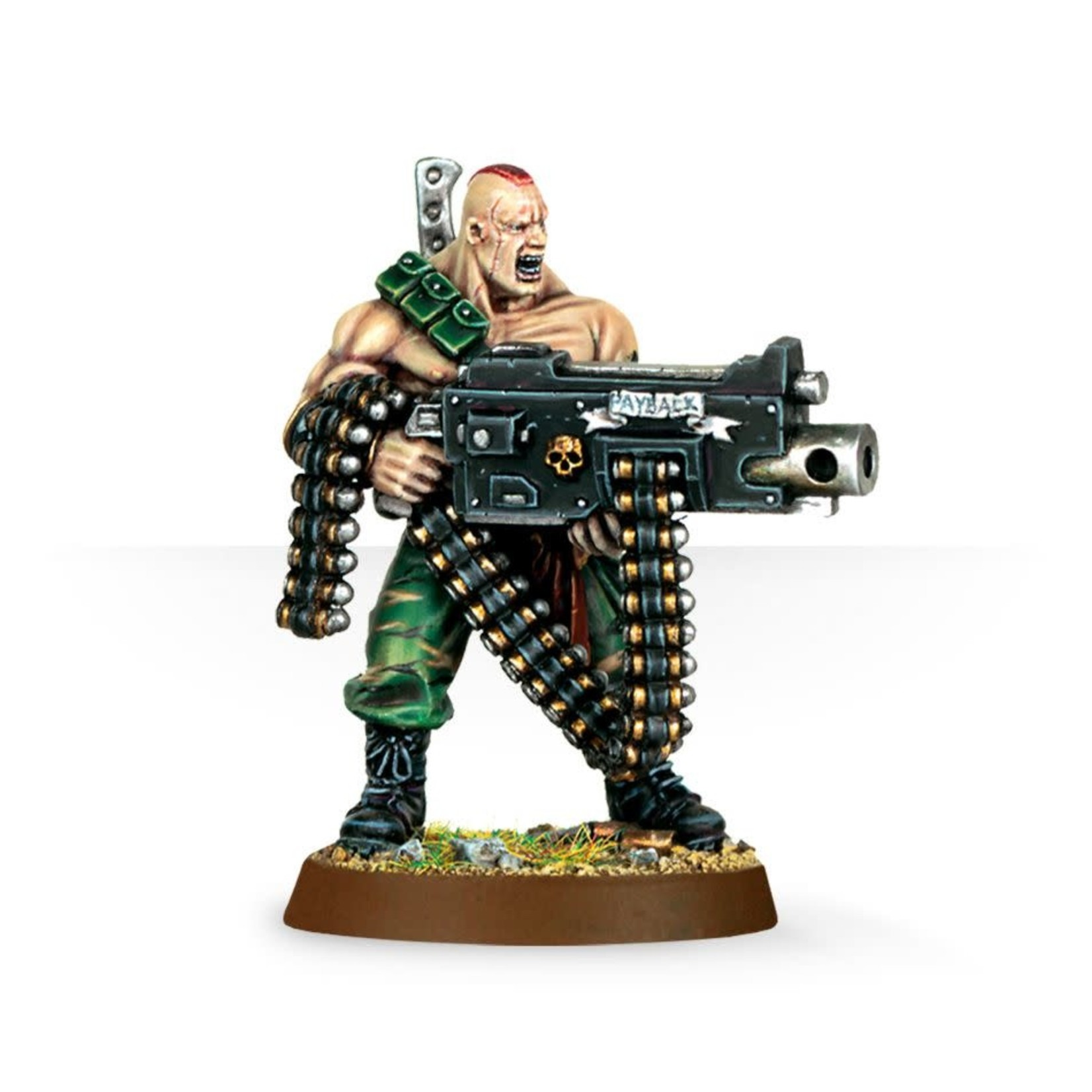 Games Workshop Gunnery Sergeant Harker
