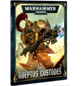 Games Workshop CODEX: ADEPTUS CUSTODES (HB) (ENGLISH)