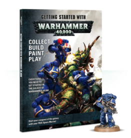 Games Workshop GETTING STARTED WITH WARHAMMER 40K (ENG)