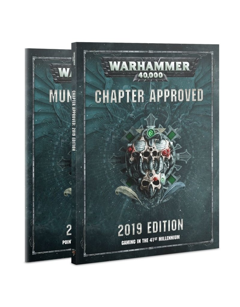 Games Workshop WH40K: CHAPTER APPROVED 2019
