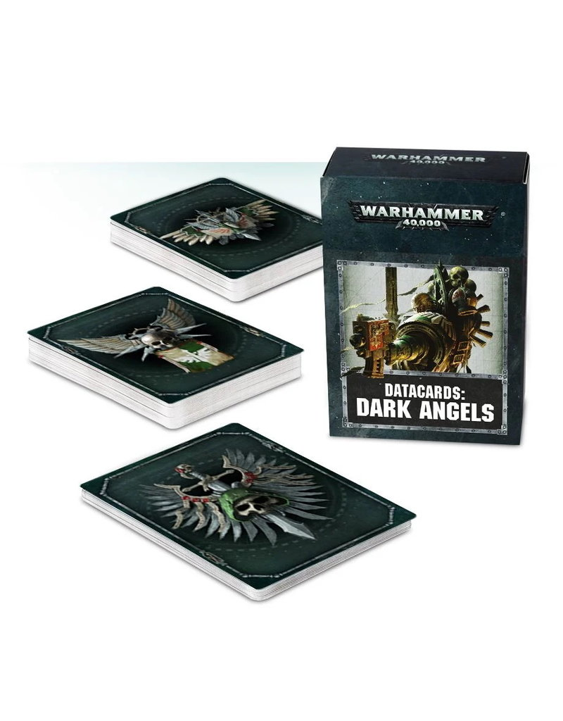 Games Workshop DATACARDS: DARK ANGELS (ENGLISH)