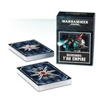 Games Workshop DATACARDS : T'AU EMPIRE (ENGLISH)