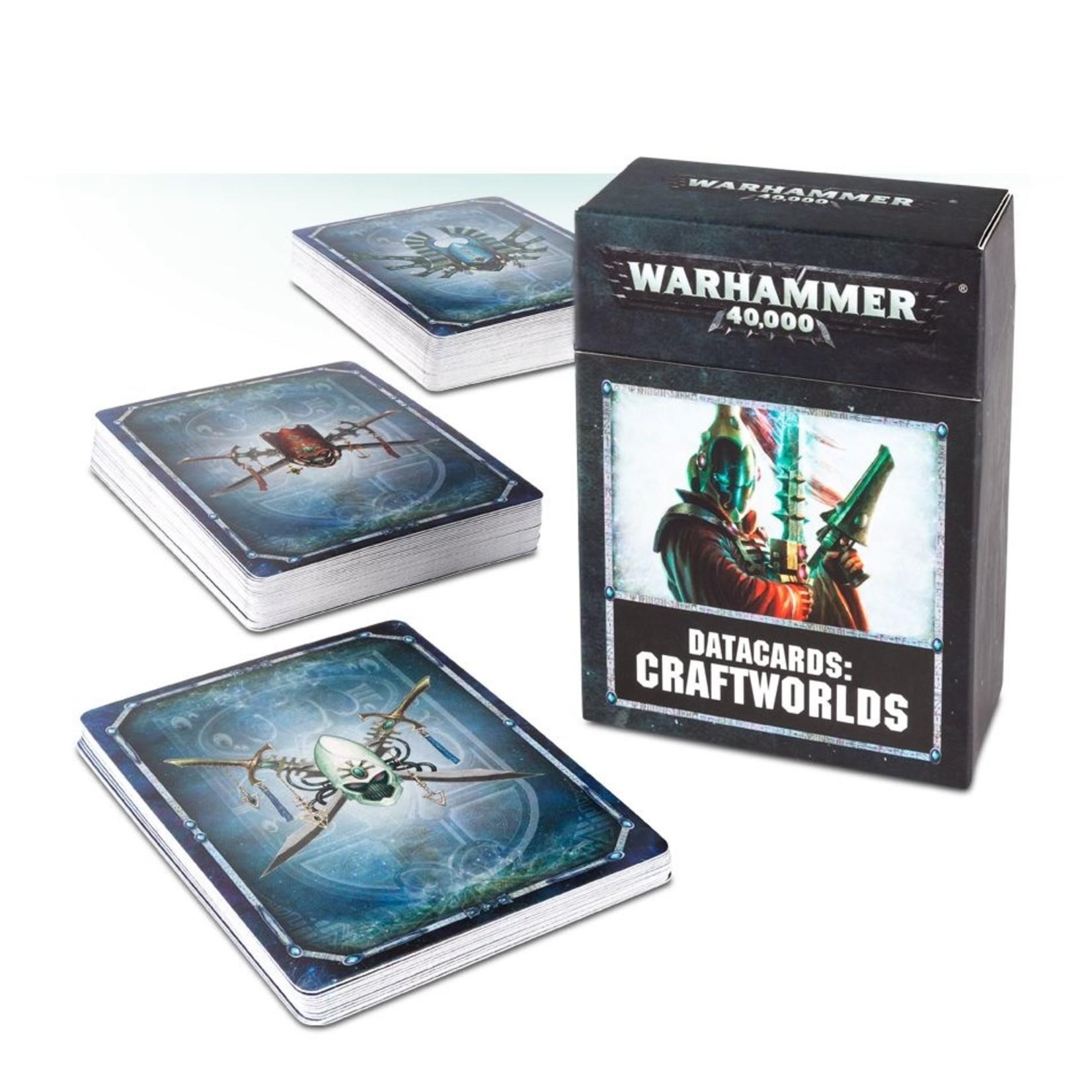 Games Workshop DATACARDS: CRAFTWORLDS (ENGLISH)