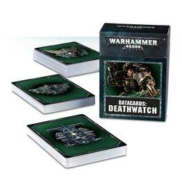 Games Workshop DATACARDS: DEATHWATCH (ENGLISH)