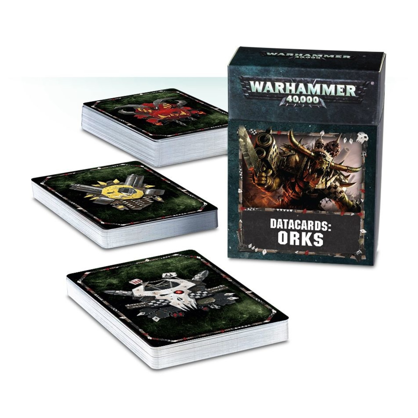 Games Workshop DATACARDS: ORKS (ENGLISH)