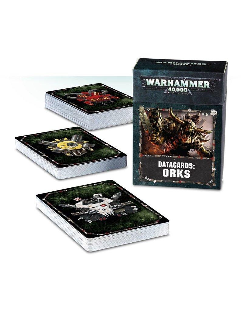 Games Workshop DATACARDS: ORKS (ENGLISH)