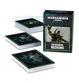 Games Workshop DATACARDS: NECRONS (ENGLISH)