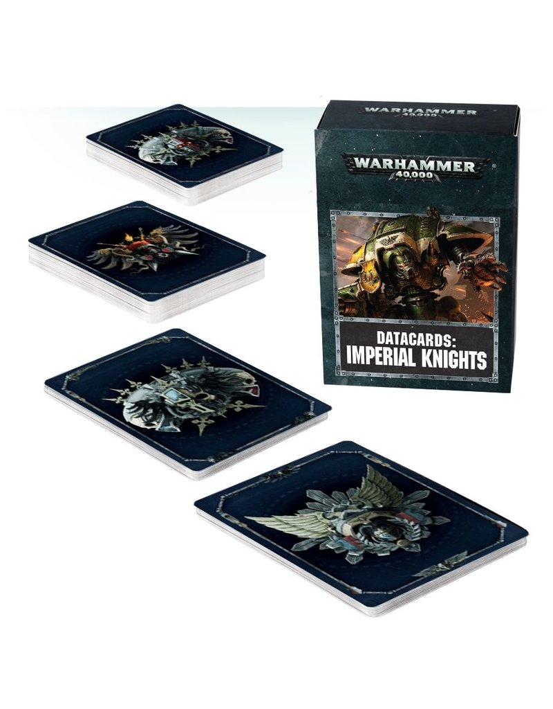 Games Workshop DATACARDS: IMPERIAL KNIGHTS (ENGLISH)