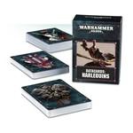 Games Workshop DATACARDS: HARLEQUINS (ENG)