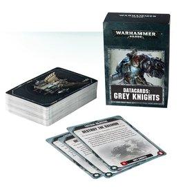Games Workshop DATACARDS: GREY KNIGHTS (ENGLISH)