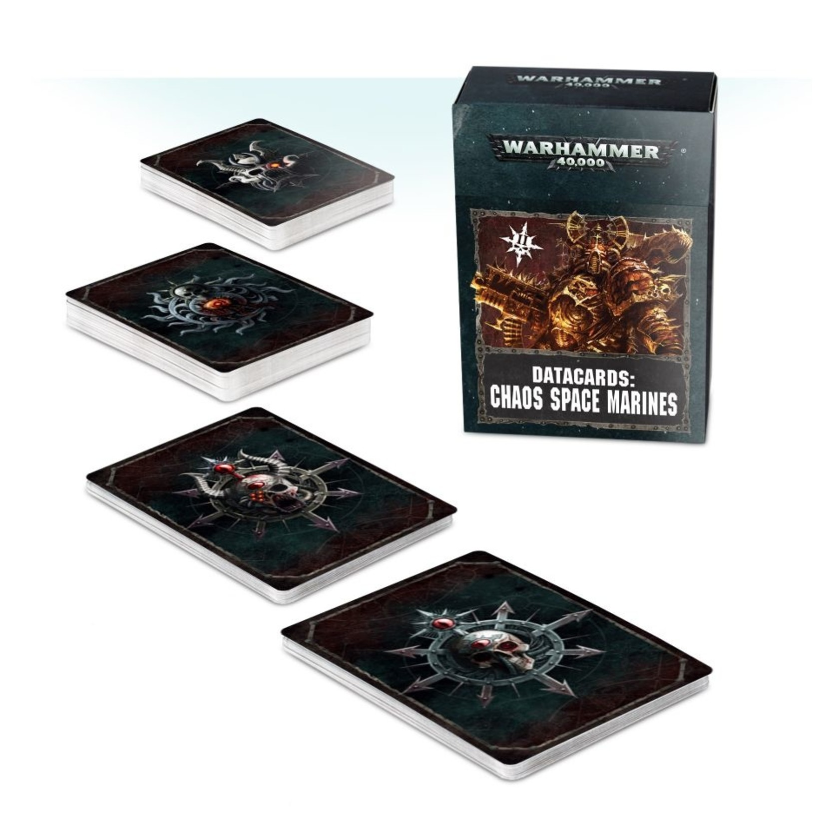 Games Workshop DATACARDS: CHAOS SPACE MARINES 2 (ENG)