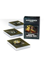 Games Workshop DATACARDS: IMPERIAL FISTS (ENGLISH)