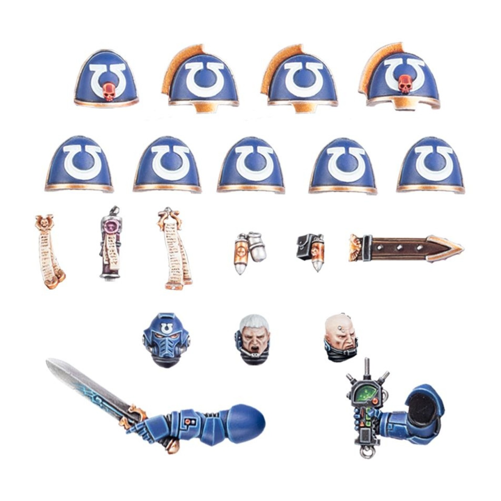 Games Workshop ULTRAMARINES UPGRADES