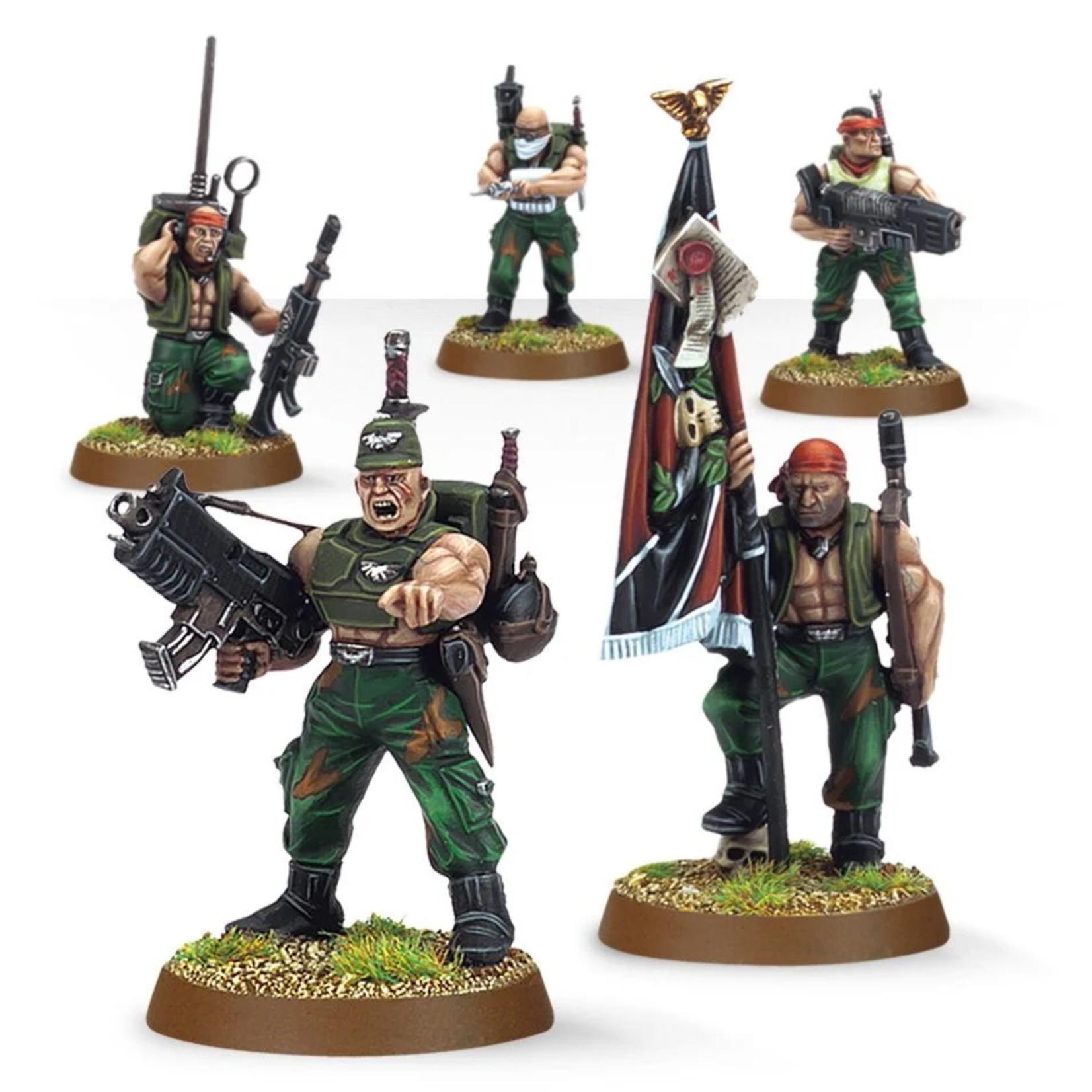 Games Workshop Imperial Guard Catachan Command Squad