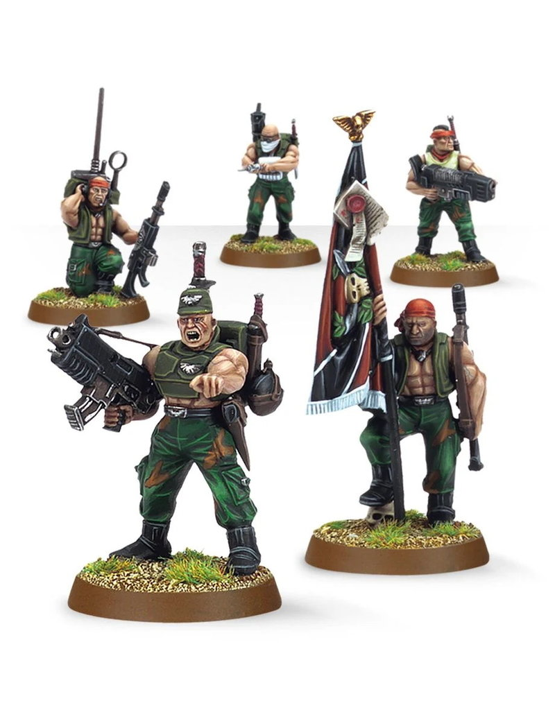 Games Workshop Imperial Guard Catachan Command Squad