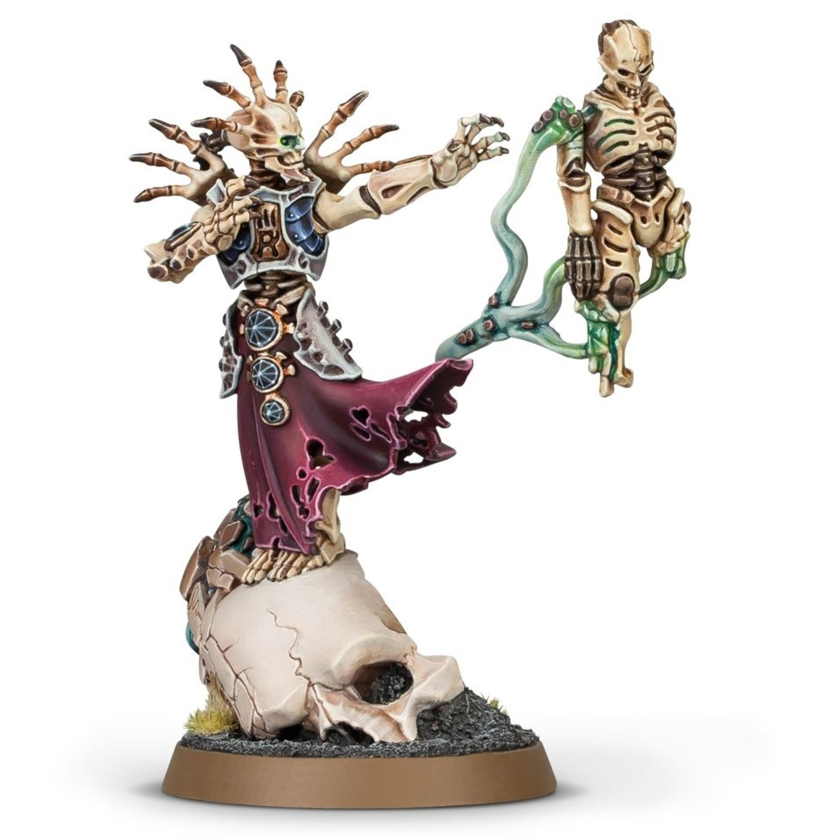 Games Workshop Ossiarch Bonereapers Mortisan Boneshaper