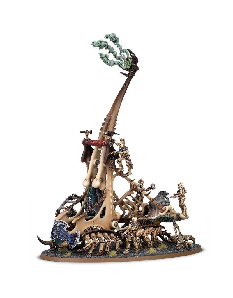 Games Workshop Ossiarch Bonereapers Mortek Crawler