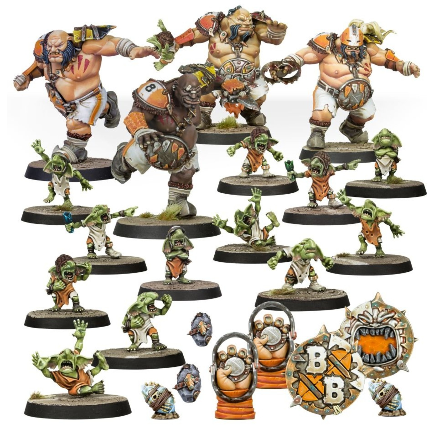 Games Workshop Fire Mountain Gut Busters