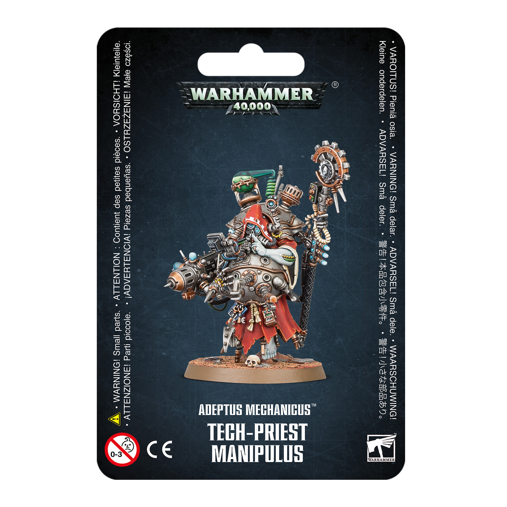 Games Workshop Adeptus Mechanicus Tech-Priest Manipulus