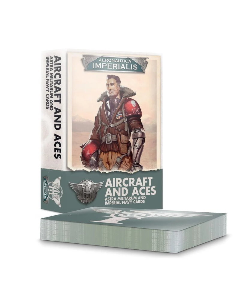 Games Workshop Aircraft & Aces Imperial Navy Cards