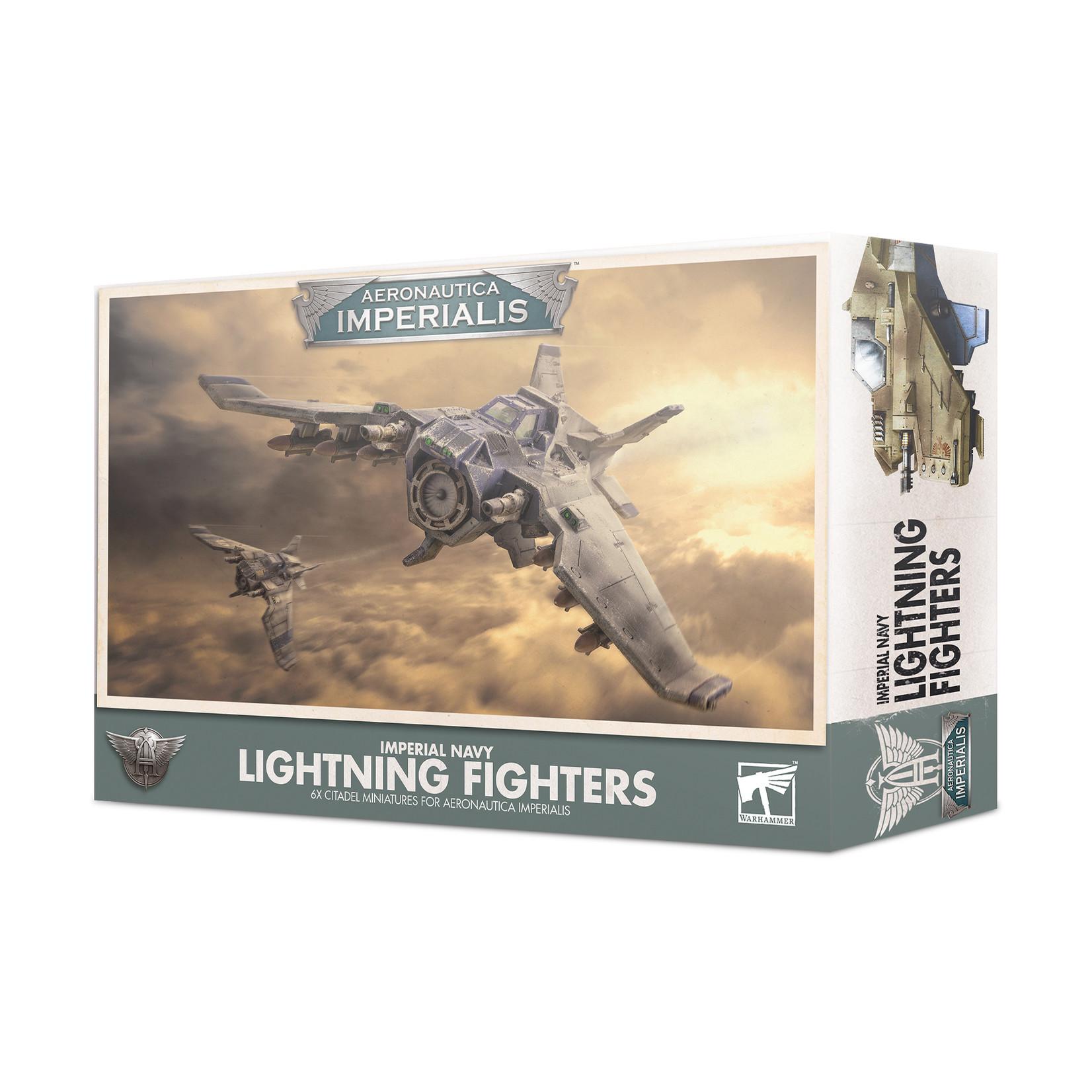 Games Workshop Imperial Navy Lightning Fighters