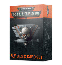 Games Workshop Kill Team: Dice & Card Set