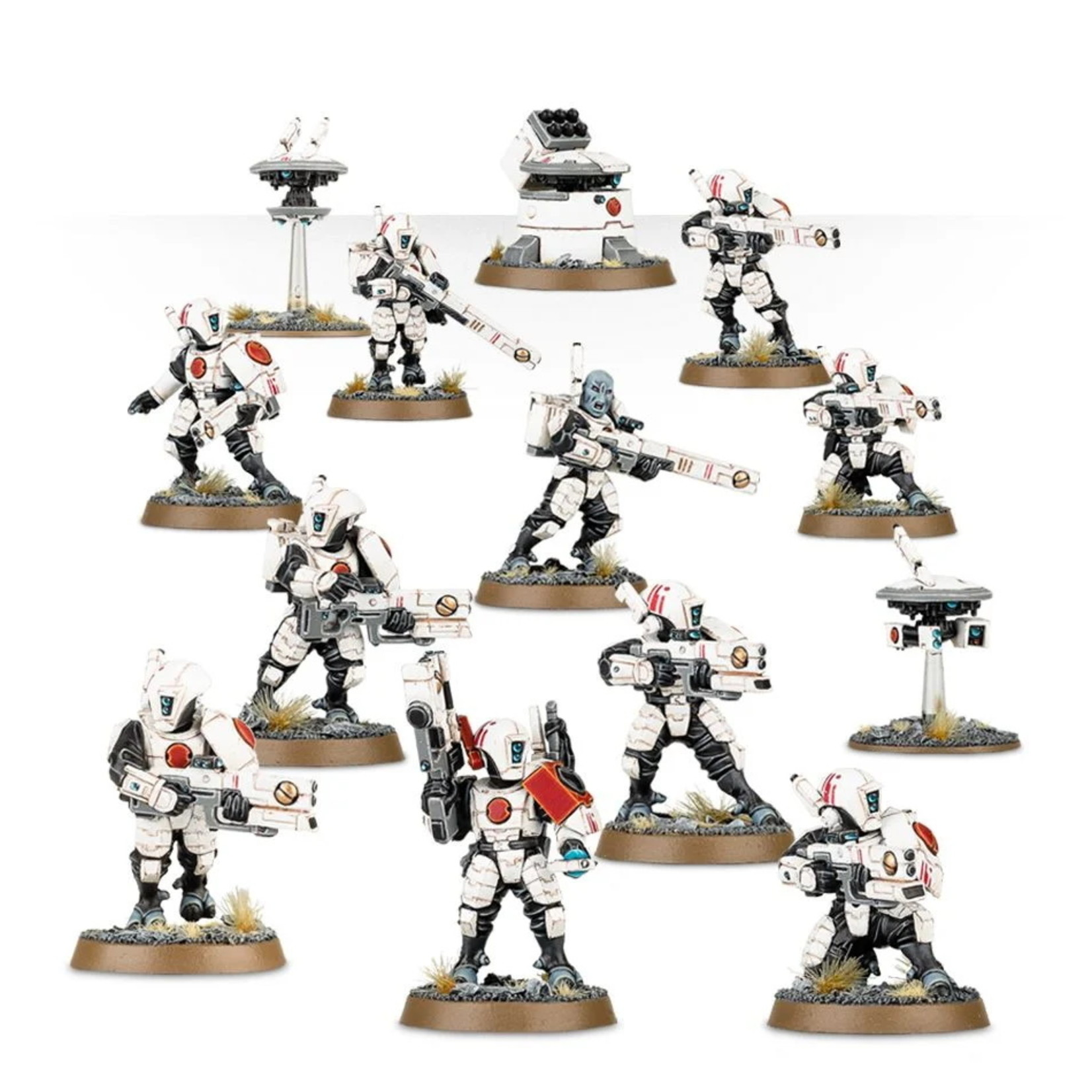 Games Workshop TAU EMPIRE FIRE WARRIORS