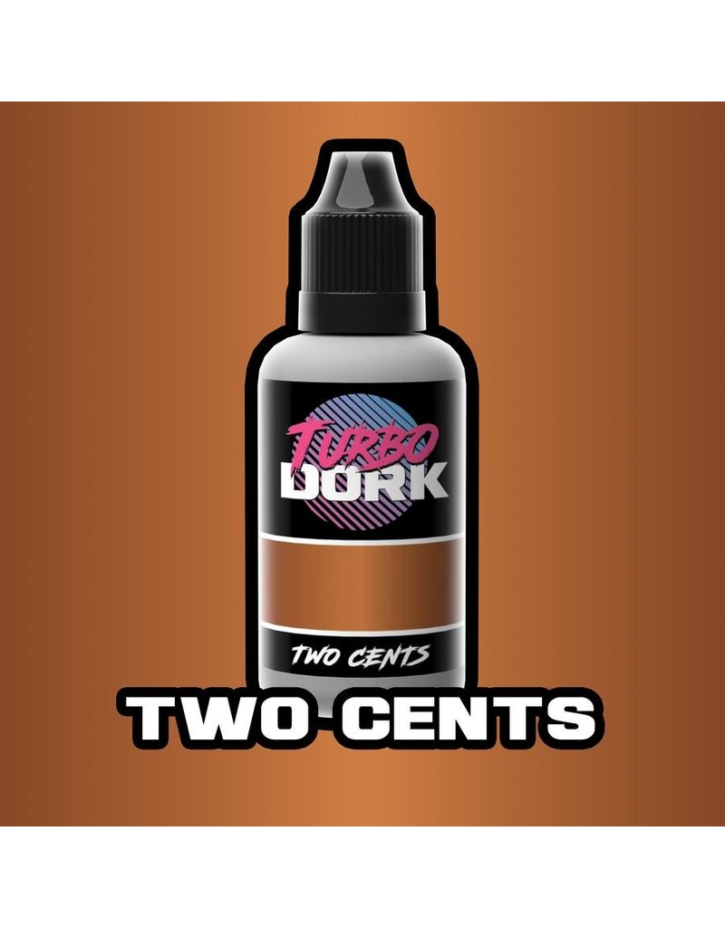 Two Cents Metallic Acrylic Paint 20ml Bottle