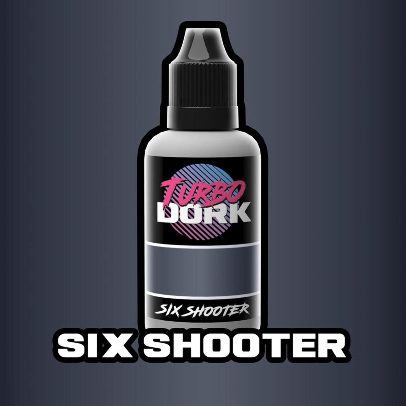 Turbodork Six Shooter Metallic Acrylic Paint 20ml Bottle