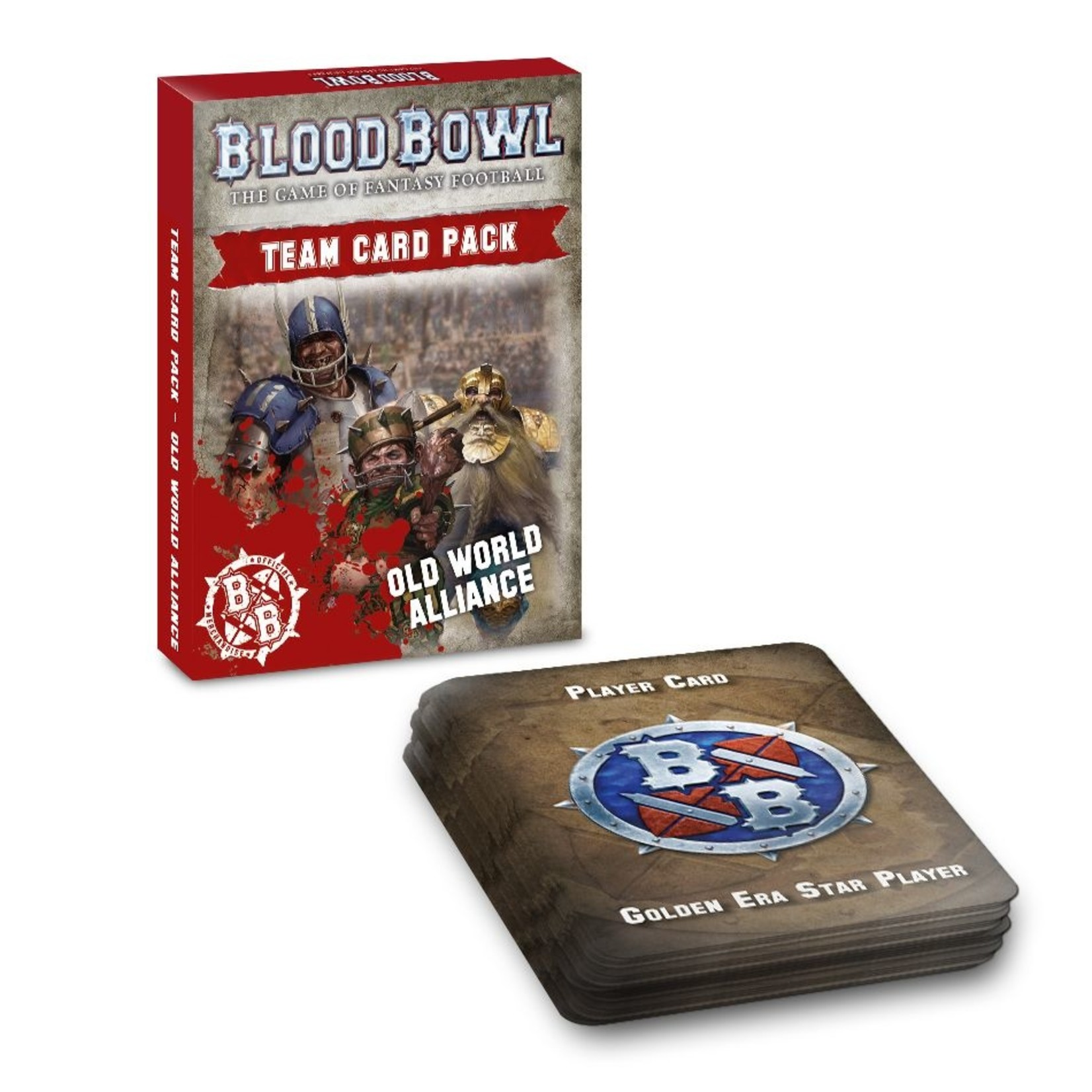 Games Workshop Blood Bowl Old World Alliance Team Card Pack