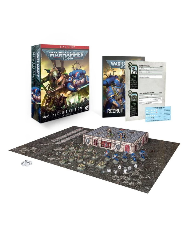 Games Workshop Warhammer 40,000 - Recruit Edition