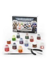 Games Workshop Warhammer 40,000: Paints + Tools Set