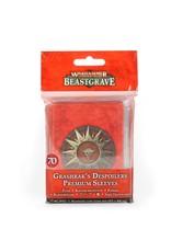 Games Workshop Warhammer Underworlds: Beastgrave – Grashrak's Despoilers Premium Sleeves