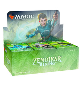 Wizards of the Coast Zendikar Rising Draft Booster Box