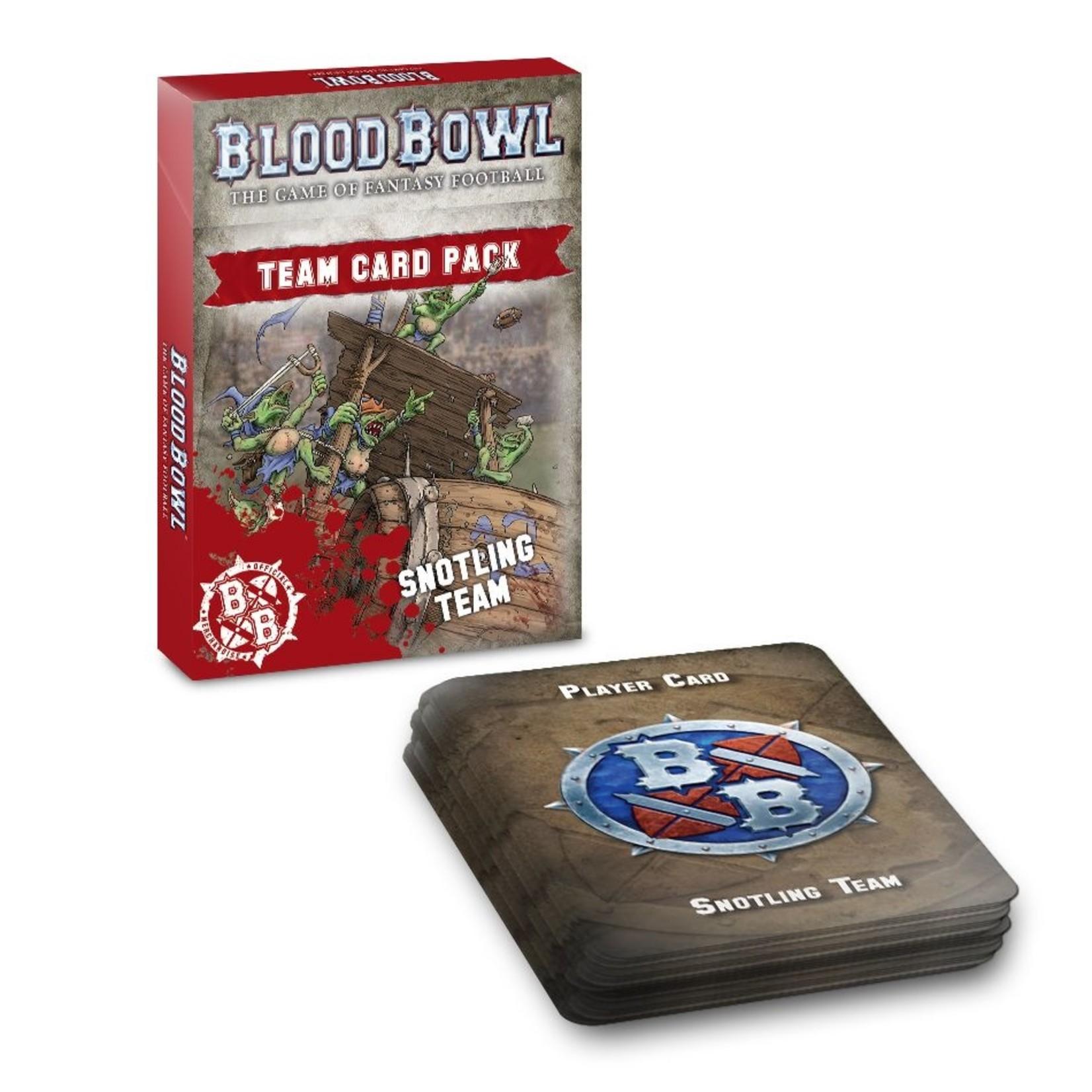 Games Workshop BLOOD BOWL: SNOTLING TEAM CARD PACK