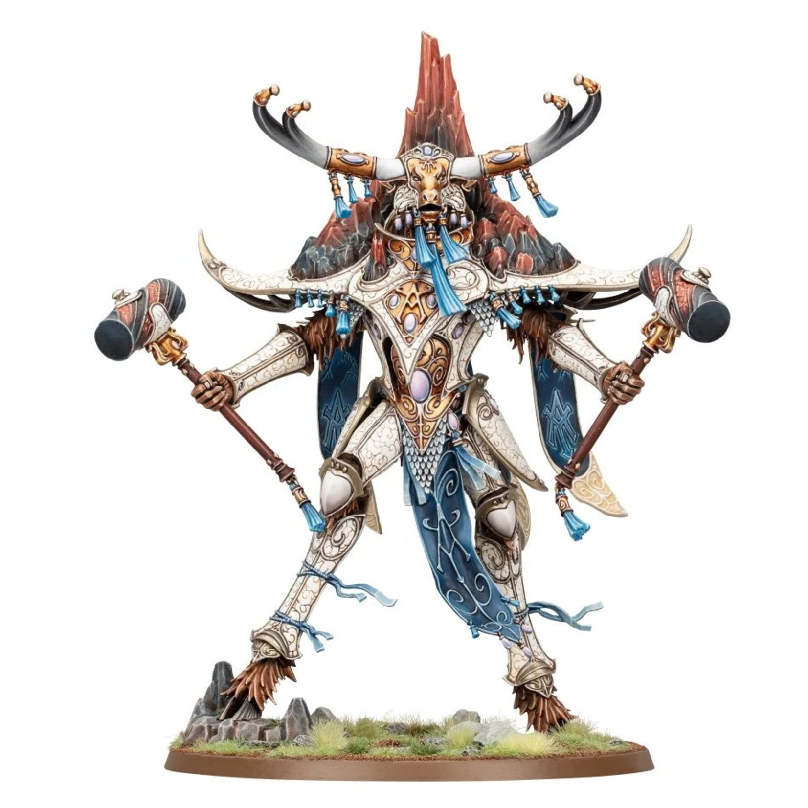 Games Workshop Lumineth: Avalenor The Stoneheart King