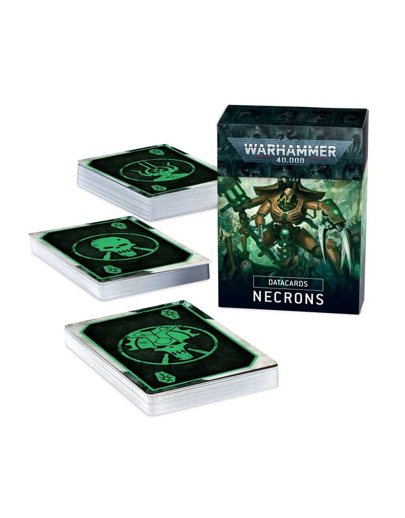 Games Workshop Datacards: Necrons
