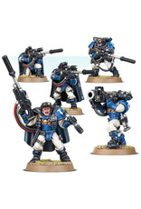 Games Workshop Space Marines Scouts with Sniper Rifles