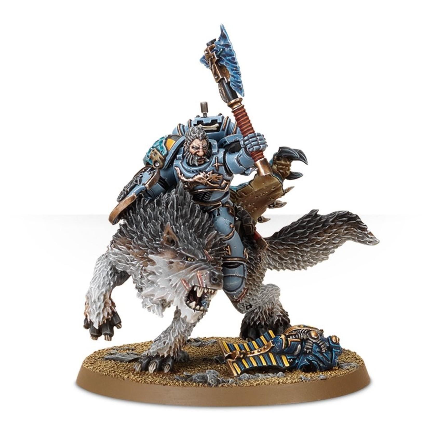 Games Workshop Wolf Lord on Thunderwolf