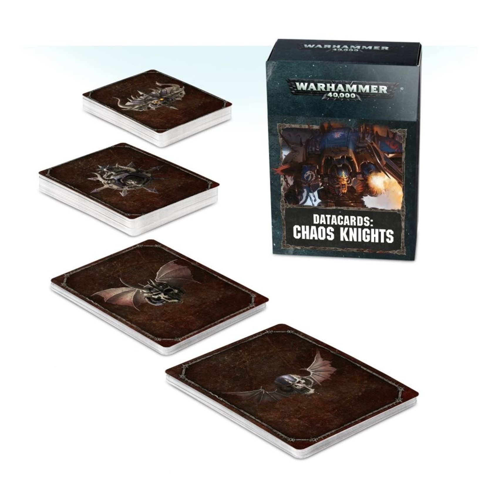 Games Workshop DATACARDS: CHAOS KNIGHTS (ENGLISH)