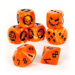 Games Workshop Blood Bowl Necromantic Horror Team Dice Set