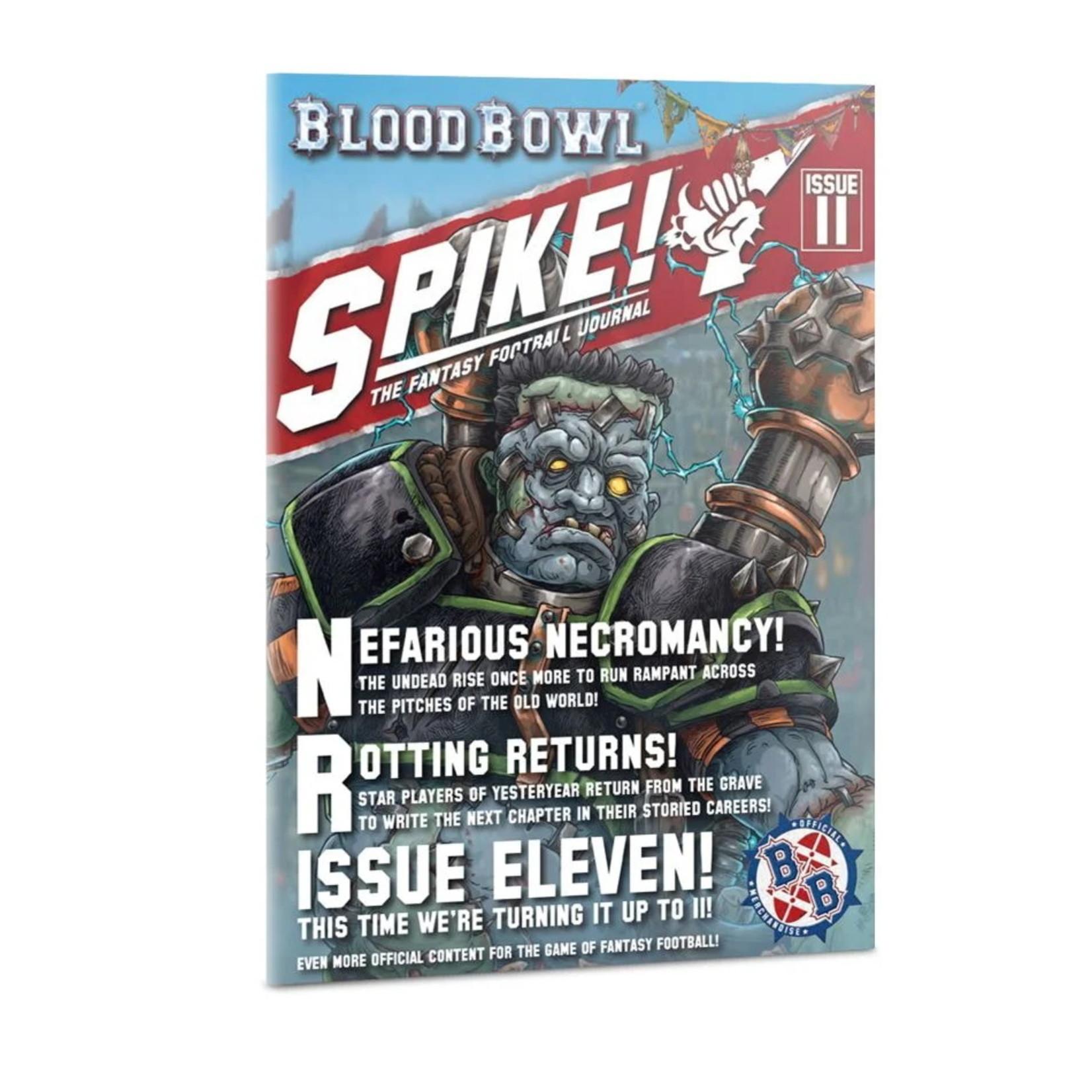 Games Workshop Blood Bowl Spike! Journal Issue 11