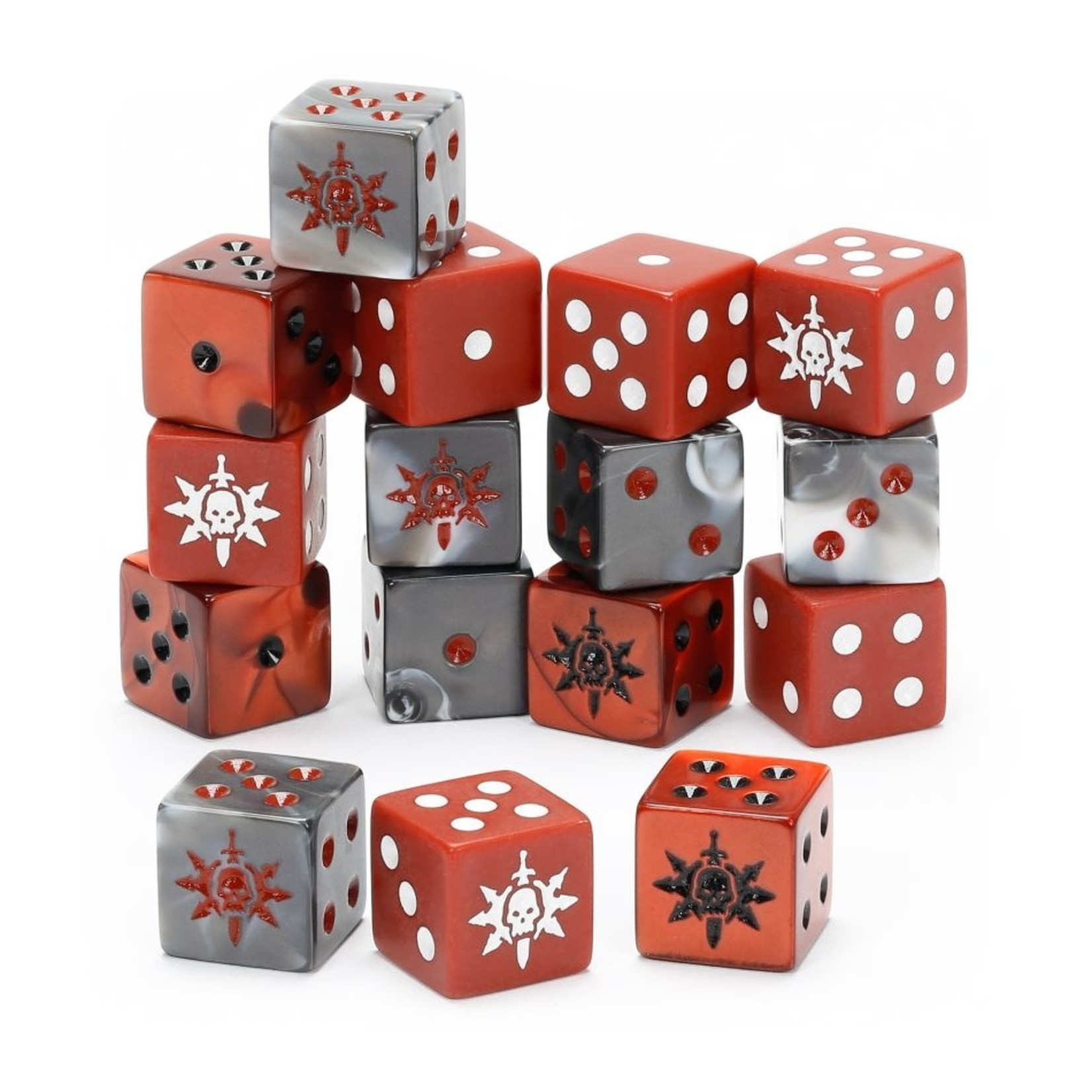 Games Workshop Warcry: Agents of Chaos Dice Set