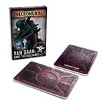Games Workshop Necromunda: Van Saar Gang Tactics Cards (Second Edition)